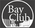 Bay Club Fitness Sticky Logo